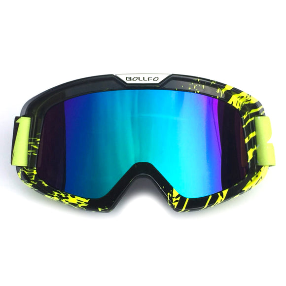 UV400 Outdoor Cycling Goggles Windproof Eyes Protector Skiing Sunglasses - tacticalxmen