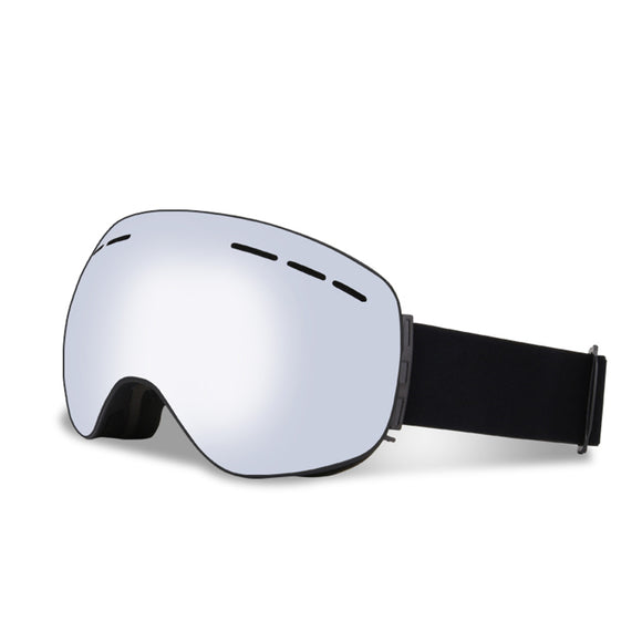 Latest Magnet Large-spherical Double Layer Antifog Snow-proof Sunglasses - tacticalxmen