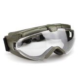 WST Maluyi High Transparency Tactical Goggles for Wargame Cosplay Halloween - tacticalxmen