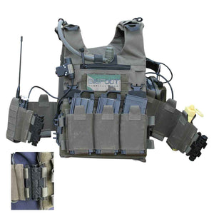 BIGFOOT GTPC Quick Release Lightweight Tactical Shooting Range Training Vest
