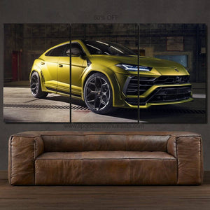 Lamborghini Urus Canvas FREE Shipping Worldwide!!