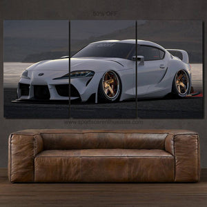 Toyota Supra MK5 Canvas FREE Shipping Worldwide!!