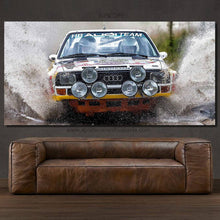 Charger l'image dans la galerie, Audi S1 Quattro Canvas FREE Shipping Worldwide!!