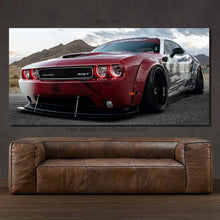 Load image into Gallery viewer, Dodge Challenger SRT Liberty Walk Canvas FREE Shipping Worldwide!!