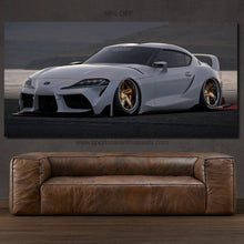 Load image into Gallery viewer, Toyota Supra MK5 Canvas FREE Shipping Worldwide!!