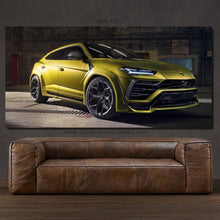 Load image into Gallery viewer, Lamborghini Urus Canvas FREE Shipping Worldwide!!