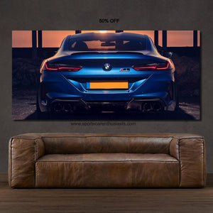 BMW M8 Canvas FREE Shipping Worldwide!!