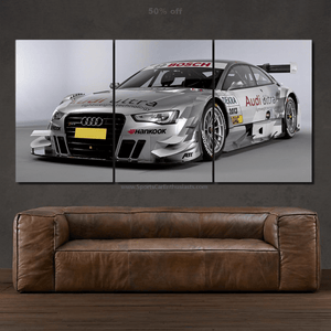 Audi RS5 DTM Canvas FREE Shipping Worldwide!!