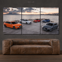 Charger l'image dans la galerie, Audi RS4 Evolution Canvas FREE Shipping Worldwide!!