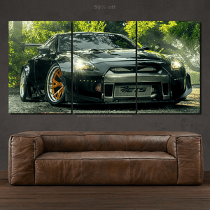 Nissan GT-R R35 Canvas 3/5pcs FREE Shipping Worldwide!!