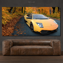 Load image into Gallery viewer, Lamborghini Murcielago SV Canvas FREE Shipping Worldwide!!