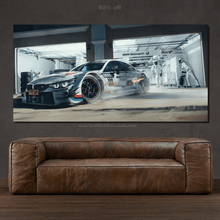 Load image into Gallery viewer, BMW M4 DTM Canvas FREE Shipping Worldwide!!