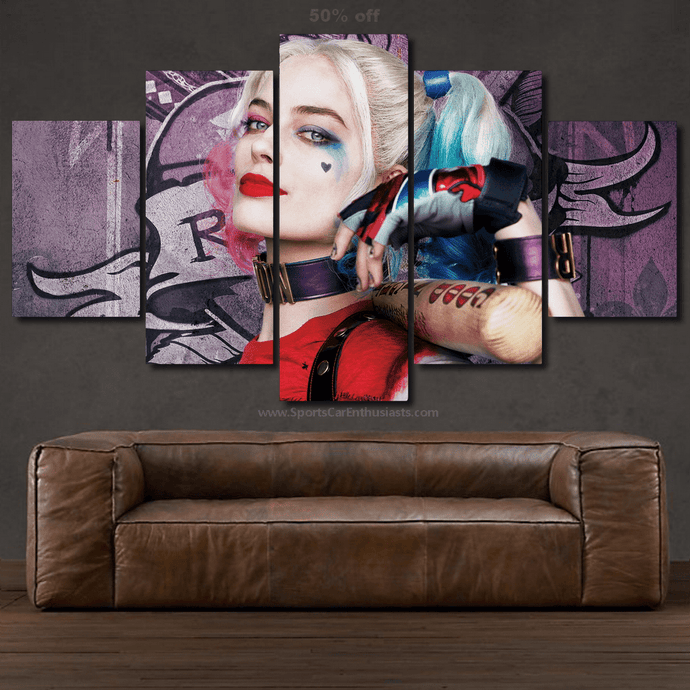Suicide Squad Canvas 3/5pcs FREE & Fast Shipping Worldwide!!