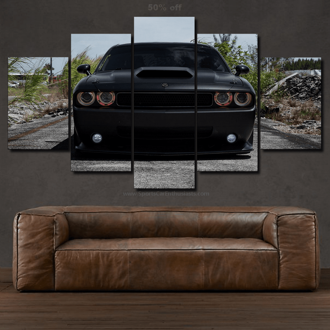 Dodge Challenger Canvas 3/5pcs FREE Shipping Worldwide!!