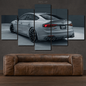 Audi RS5 Canvas 3/5pcs FREE Shipping Worldwide!!