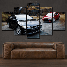 Load image into Gallery viewer, Mitsubishi EVO X Canvas 3/5pcs FREE Shipping Worldwide!!