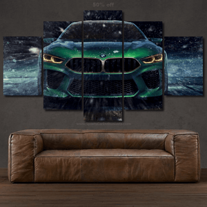 BMW M8 Canvas 3/5pcs FREE Shipping Worldwide!!