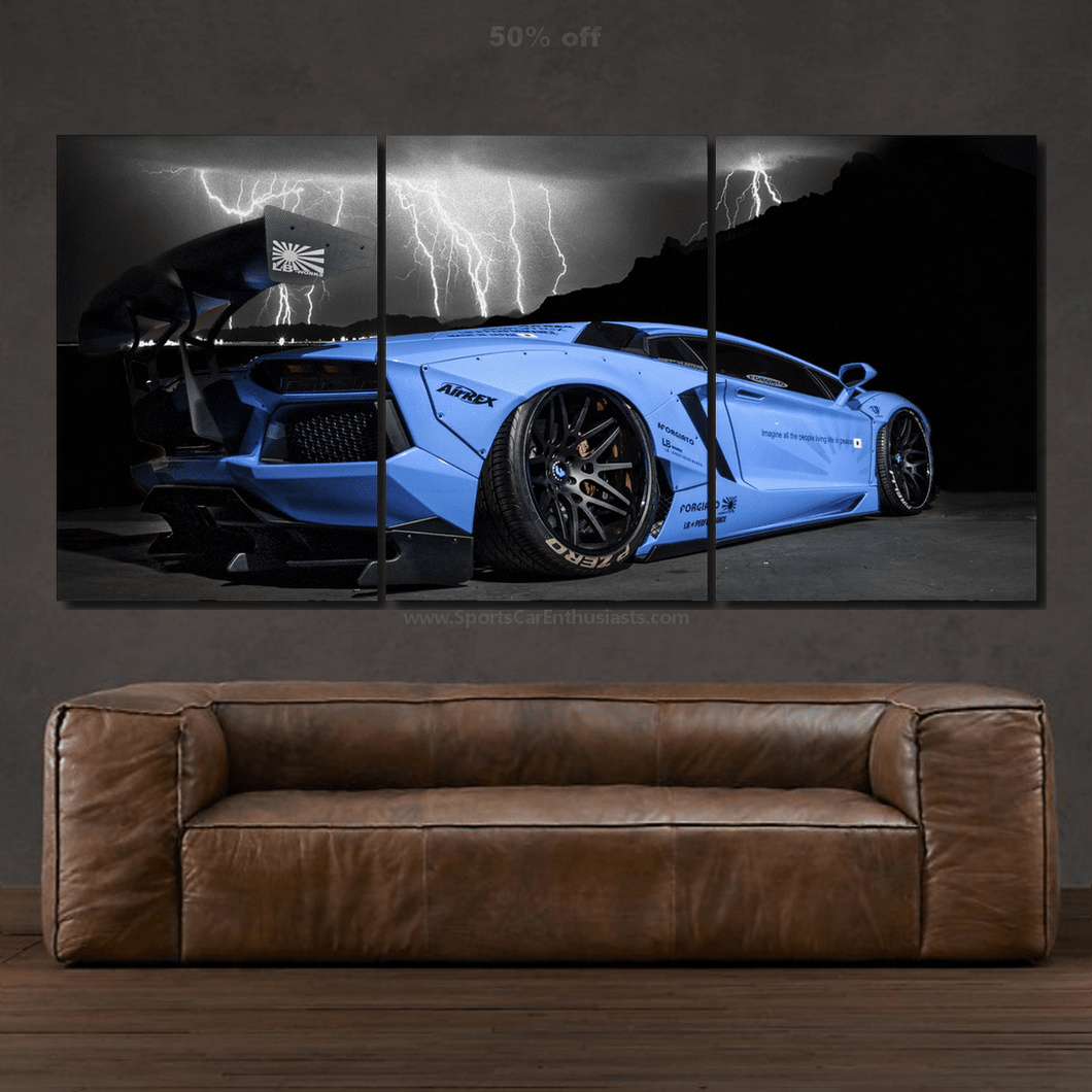 Lamborghini Aventador Canvas FREE Shipping Worldwide!!