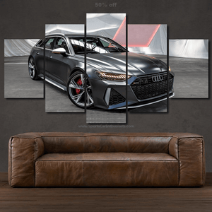 Audi RS6 Canvas 3/5pcs FREE Shipping Worldwide!!