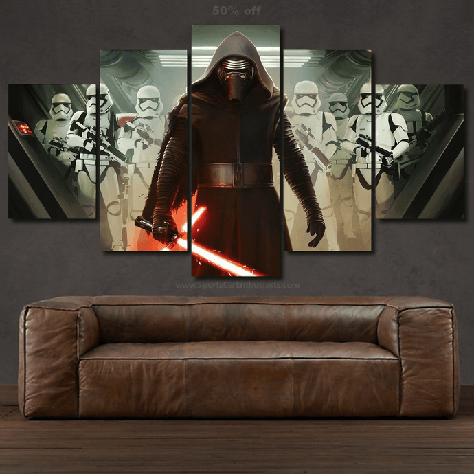 Star Wars Canvas 3/5pcs FREE & Fast Shipping Worldwide!!