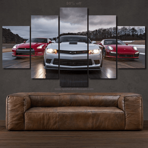Sport Cars Canvas 3/5pcs FREE Shipping Worldwide!!
