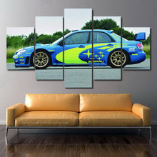 Load image into Gallery viewer, Subaru STI WRC Canvas FREE Shipping Worldwide!!