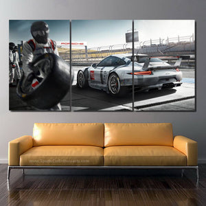 Porsche RSR Canvas FREE Shipping Worldwide!!