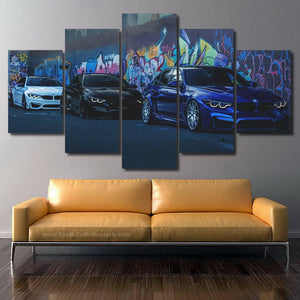 BMW M Power Canvas FREE Shipping Worldwide!!