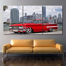 Load image into Gallery viewer, Chevy Impala 1960 Canvas 3/5pcs FREE Shipping Worldwide!!