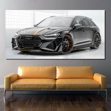 Load image into Gallery viewer, Audi RS6 Canvas FREE Shipping Worldwide!!