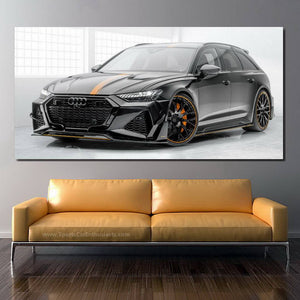 Audi RS6 Canvas FREE Shipping Worldwide!!