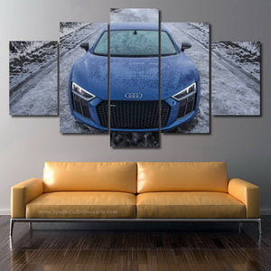 Audi R8 Canvas 3/5pcs FREE Shipping Worldwide!!
