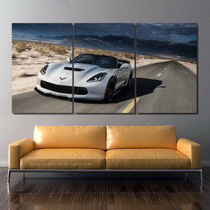 Chevrolet Corvette Z06 Canvas FREE Shipping Worldwide!!