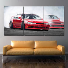Load image into Gallery viewer, Nissan Silvia S14 Drift Canvas 3/5pcs FREE Shipping Worldwide!!