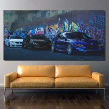Load image into Gallery viewer, BMW M Power Canvas FREE Shipping Worldwide!!