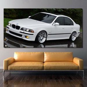 BMW M5 E39 Canvas FREE Shipping Worldwide!!