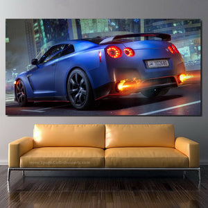 Nissan GT-R R35 Canvas FREE Shipping Worldwide!!