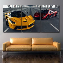 Load image into Gallery viewer, Hypercars Canvas 3pcs FREE Shipping Worldwide!!