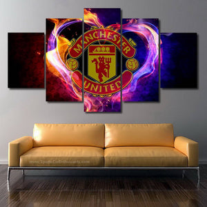 FC Manchester United 3/5pcs Canvas FREE Shipping Worldwide!!
