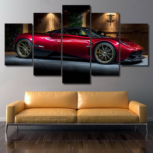 Pagani Huayra 3/5pcs Canvas FREE Shipping Worldwide!!