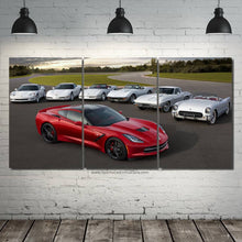 Load image into Gallery viewer, Chevrolet Corvette Evolution Canvas 3/5pcs FREE Shipping Worldwide!!