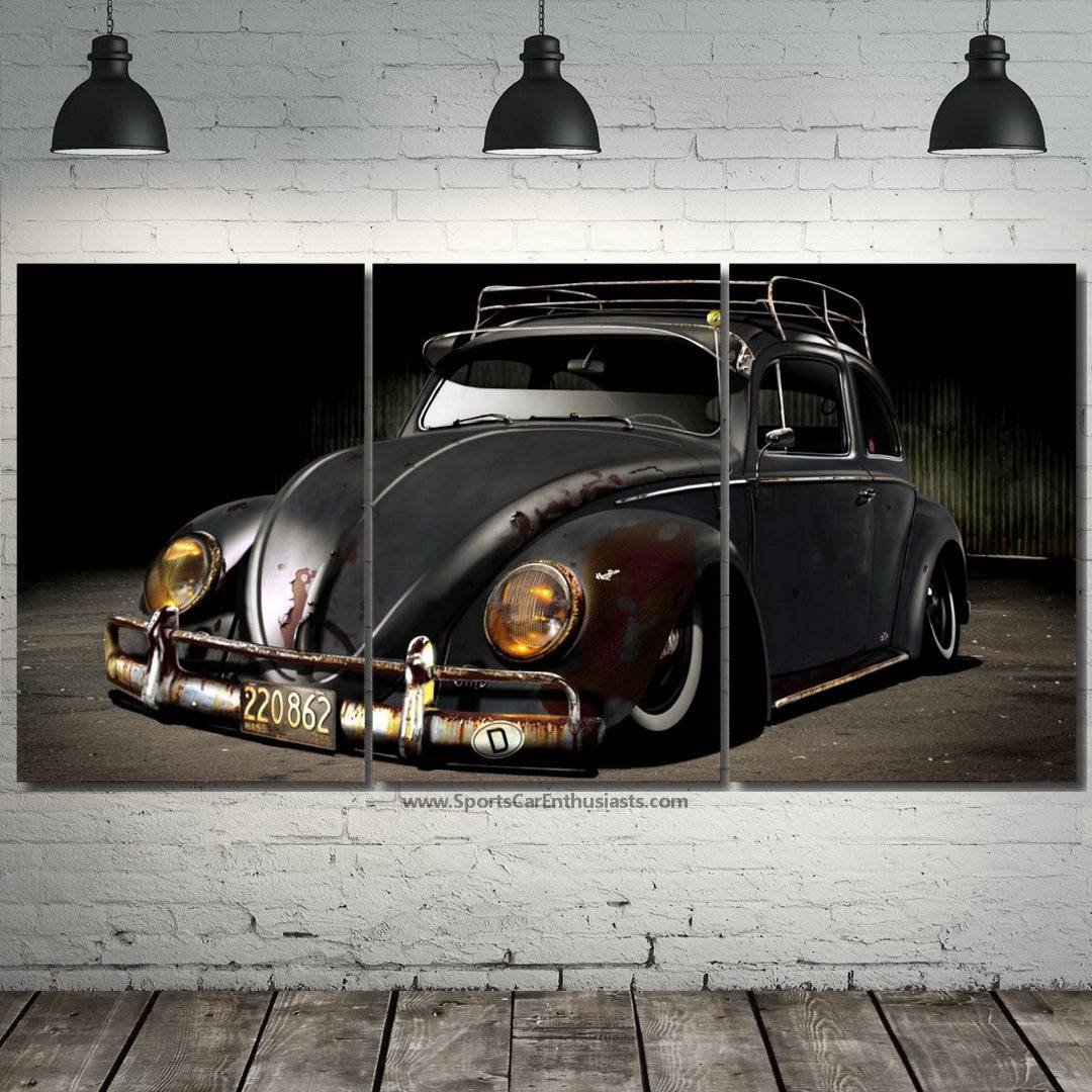 VW Beetle Canvas 3/5pcs FREE & Fast Shipping Worldwide!!