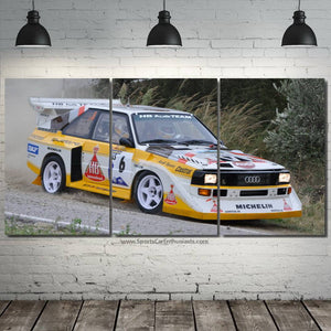 Audi S1 Quattro Canvas 3/5pcs FREE Shipping Worldwide!!