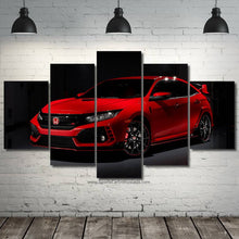 Load image into Gallery viewer, Honda Civic Type R Canvas 3/5pcs FREE Shipping Worldwide!!