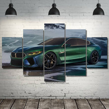 Load image into Gallery viewer, BMW M8 Gran Coupe Canvas 3/5pcs FREE Shipping Worldwide!!