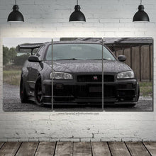 Load image into Gallery viewer, Nissan GT-R R34 Canvas FREE Shipping Worldwide!!
