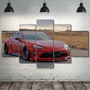 Toyota GT86 Canvas 3/5pcs FREE Shipping Worldwide!!
