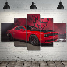 Load image into Gallery viewer, Dodge Challenger SRT Demon Canvas FREE Shipping Worldwide!!