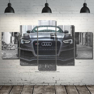 Audi Canvas FREE Shipping Worldwide!!
