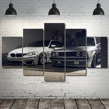 Load image into Gallery viewer, BMW M3 E30 & F80 Canvas 3/5pcs FREE Shipping Worldwide!!